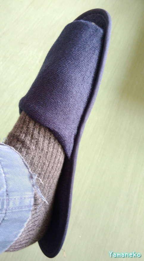 26.5cmの足