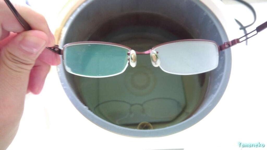 メガネ拭きの実験